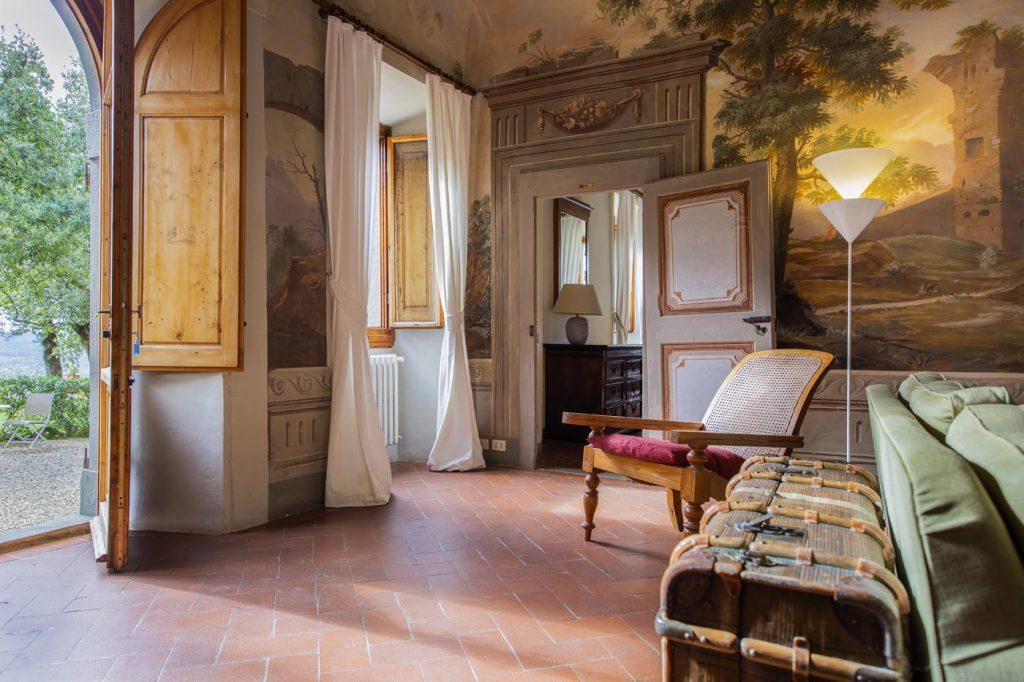 Villa di Rignana - Appartamento il Riccio - Salotto 2