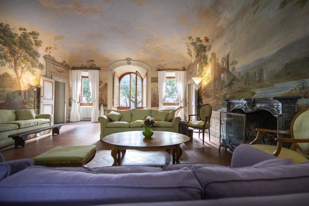 Villa di Rignana - Appartamento il Riccio - Salotto 4
