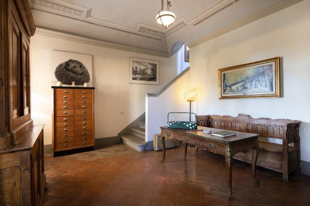 Villa di Rignana - disimpegno Riccio 1