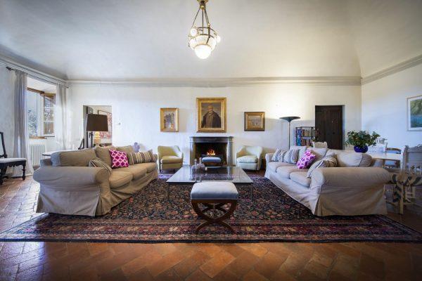 Villa di Rignana - Appartamento Stella - Salone 2