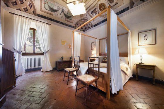 Villa di Rignana - Appartamento il Riccio - Camera Gallo 1