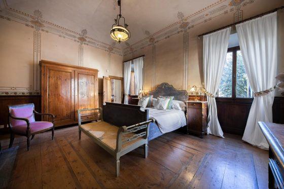 Villa di Rignana - Appartamento il Riccio - Camera Legno 1