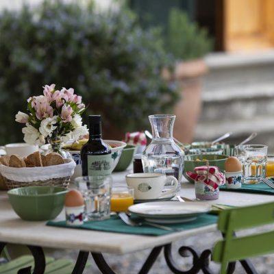 Villa di Rignana - Colazione a